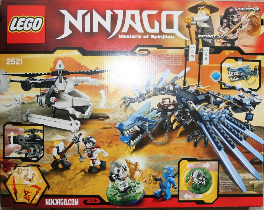 lego ninjago 2521 le combat du dragon de foudre