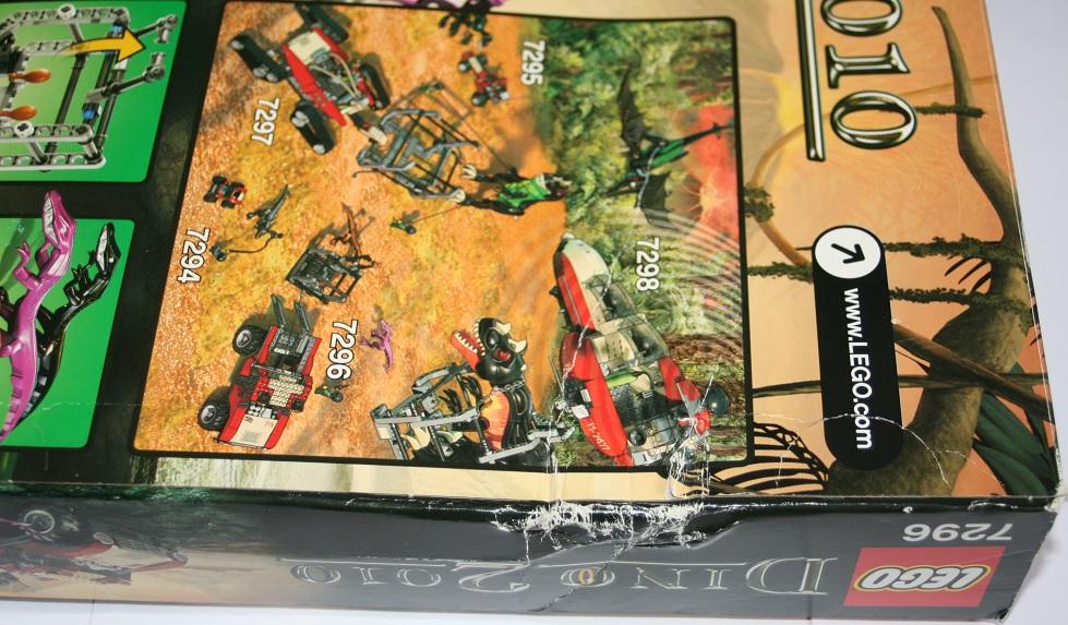 Lego dino 2010 7296 4wd trapper neuf scelle rare ebay - Mondial relay contact ...